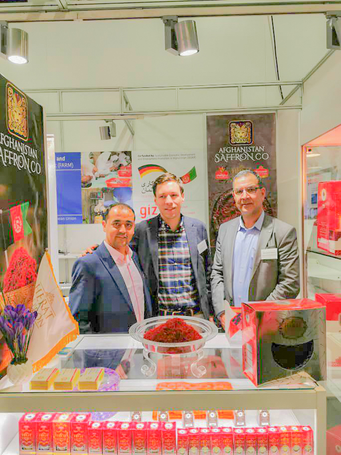 شرکت زعفران افغنستان در آلمان